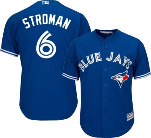 c06912932 Majestic Men s Replica Toronto Blue Jays Marcus Stroman  6 Cool Base  Alternate Royal Jersey. noImageFound. Previous