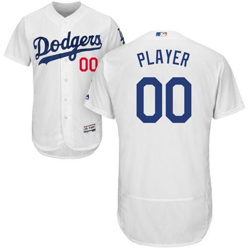 ce78149917d Majestic Men s Full Roster Authentic Los Angeles Dodgers Flex Base ...