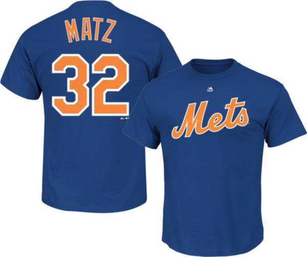 Majestic Men's New York Mets Steven Matz #32 Royal T-Shirt product image