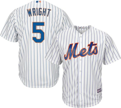 9f6c00375 Majestic Men s Replica New York Mets David Wright  5 Cool Base Home White  Jersey. noImageFound. Previous