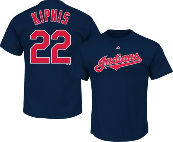 Majestic Men's Cleveland Indians Jason Kipnis #22 Navy T-Shirt product image
