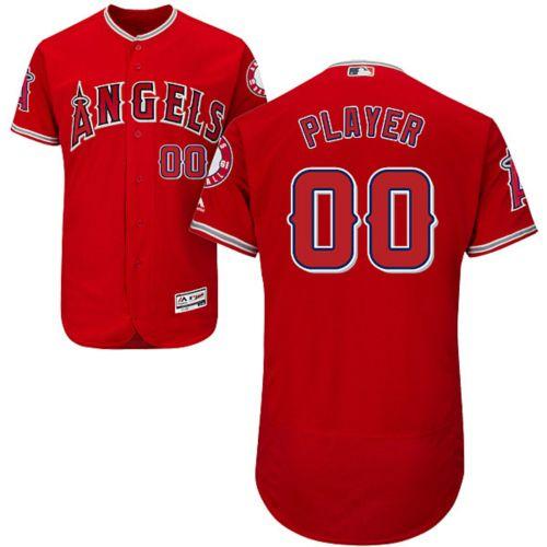 28ea56f4a Majestic Men s Full Roster Authentic Los Angeles Angels Flex Base ...