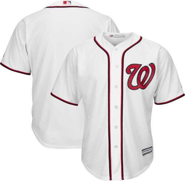 Majestic Men's Replica Washington Nationals Cool Base Home White Jersey product image