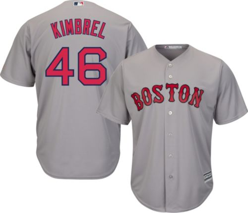 8a055db9b Majestic Men s Replica Boston Red Sox Craig Kimbrel  46 Cool Base Road Grey  Jersey. noImageFound. Previous