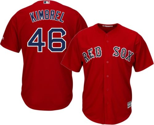 3d0ed54df Majestic Men s Replica Boston Red Sox Craig Kimbrel  46 Cool Base Alternate Red  Jersey. noImageFound. Previous
