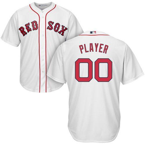 0a0fa03c8 Majestic Men's Full Roster Cool Base Replica Boston Red Sox Home ...