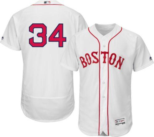 Majestic Men s Authentic Boston Red Sox David Ortiz  34 Alternate ... 4914718197e