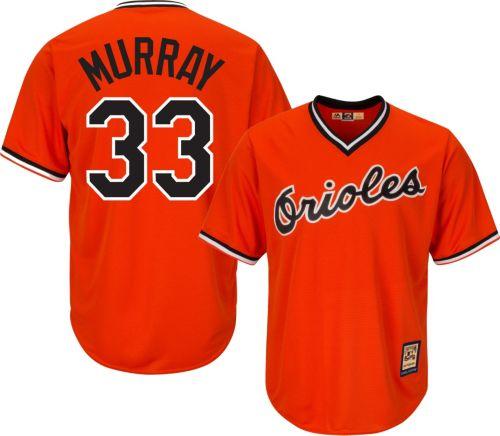 16d05285396 ... Orioles Eddie Murray Cool Base Orange Cooperstown Jersey. noImageFound.  Previous