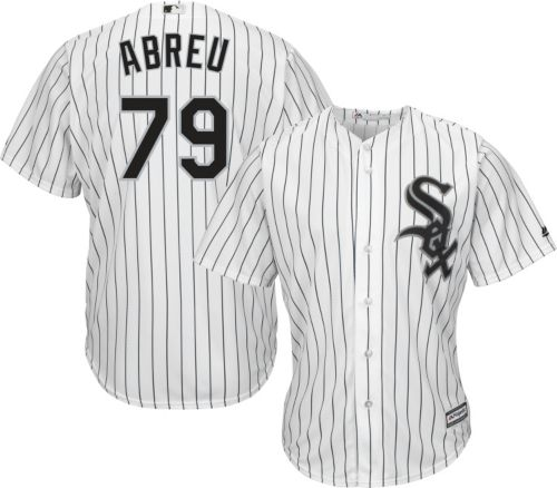 a3116aed2 Majestic Men s Replica Chicago White Sox Jose Abreu  79 Cool Base Home White  Jersey