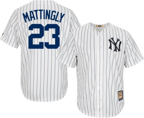8663c298e ... majestic mens replica new york yankees don mattingly cool base white  cooperstown jersey. noimagefoun