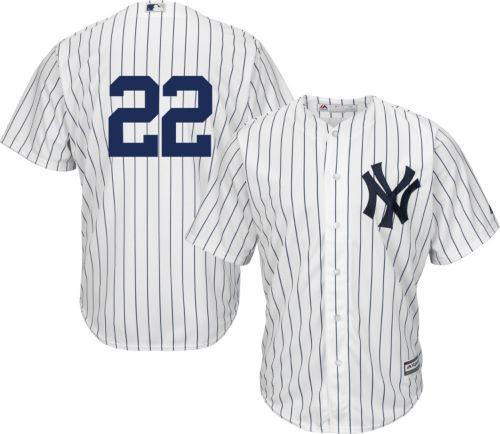 daabf0944df8 Majestic Men s Replica New York Yankees Jacoby Ellsbury  22 Cool Base Home  White Jersey. noImageFound. Previous