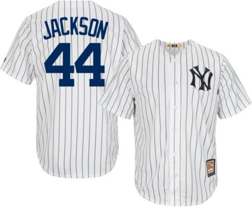 ... amazon yankees reggie jackson cool base white cooperstown jersey.  noimagefound. previous c38a9 fcfa0 2e26a77e4