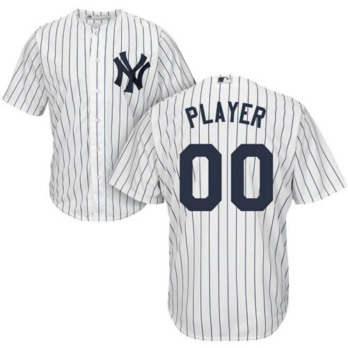 6014599a3 Majestic Men's Full Roster Cool Base Replica New York Yankees Home ...