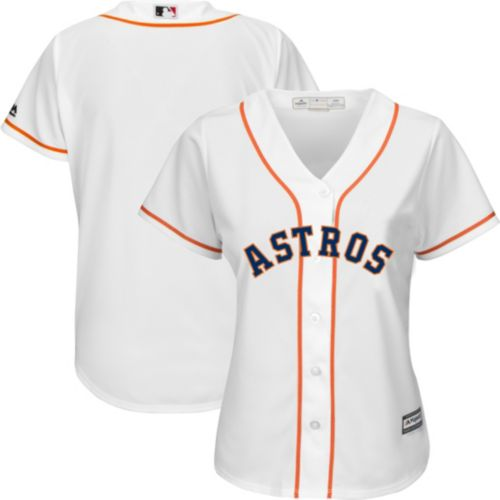 96f5f773d Majestic Women s Replica Houston Astros Cool Base Home White Jersey.  noImageFound. Previous
