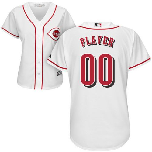 95fe70db4 Majestic Women s Full Roster Cool Base Replica Cincinnati Reds Home White  Jersey. No rating value.  100.00. noImageFound. Previous