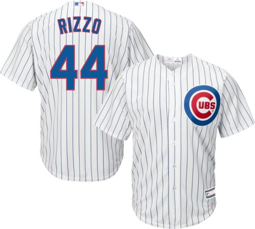 2d7b0ca774b Youth Replica Chicago Cubs Anthony Rizzo  44 Home White Jersey.  noImageFound. Previous