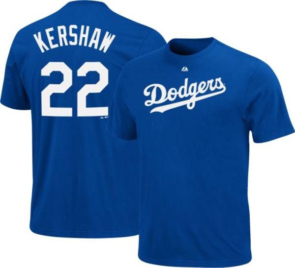 Majestic Youth Los Angeles Dodgers Clayton Kershaw #22 Royal T-Shirt product image