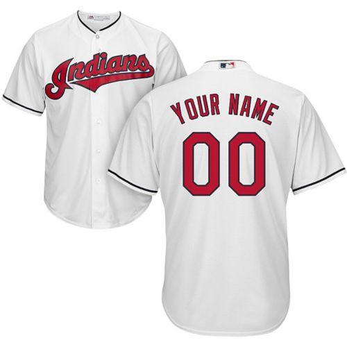 Fanartikel Baseball & Softball Mlb Baseball Trikot Cleveland Indians Cool Base Majestic Jersey