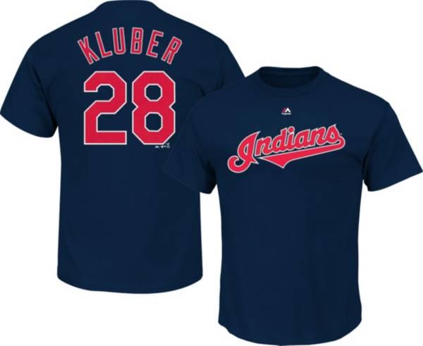 Majestic Youth Cleveland Indians Corey Kluber #28 Navy T-Shirt product image