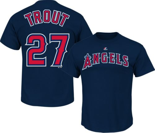 ... germany majestic youth los angeles angels mike trout 27 navy t shirt  5f6af 44060 941452a53