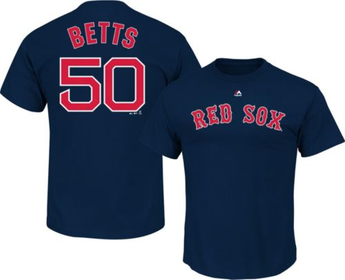 1b46aa33 Majestic Youth Boston Red Sox Mookie Betts #50 Navy T-Shirt. noImageFound.  Previous
