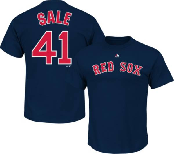 Majestic Youth Boston Red Sox Chris Sale #41 Navy T-Shirt product image