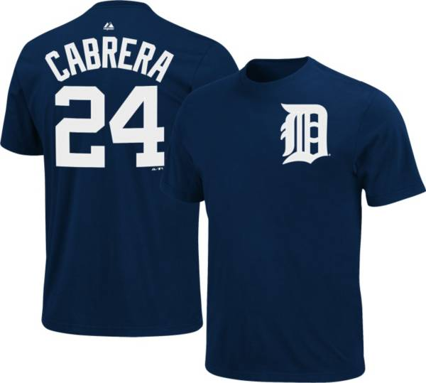 Majestic Youth Detroit Tigers Miguel Cabrera #24 Navy T-Shirt product image