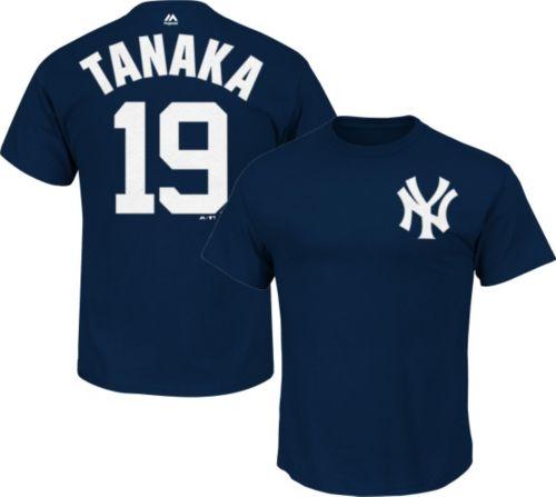 Majestic Youth New York Yankees Masahiro Tanaka  19 Navy T-Shirt.  noImageFound. 1 a2b0bd53a97