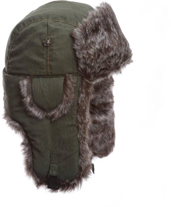 Mad Bomber Men's Olive Supplex Faux Fur Bomber Hat product image