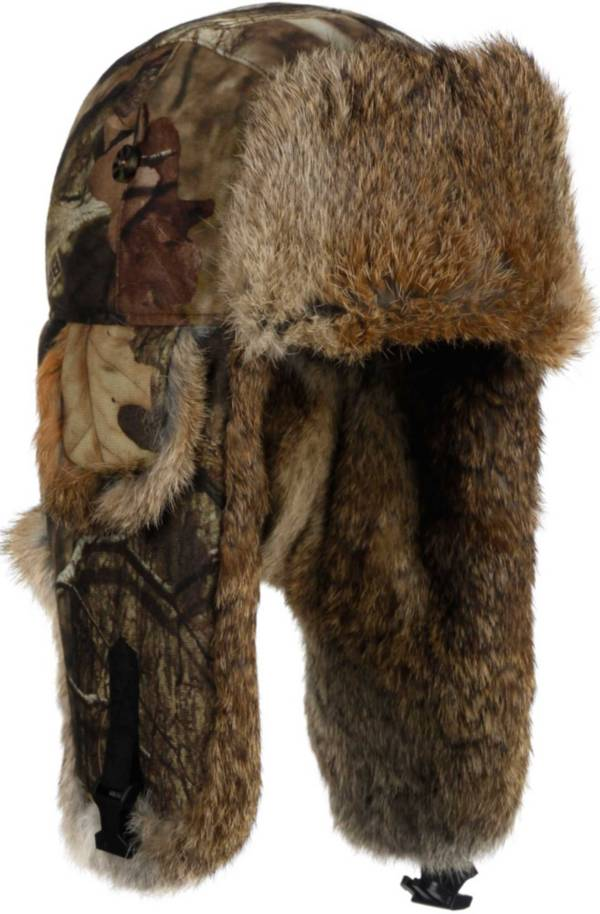 Mad Bomber Men's Mossy Oak Infinity Saddlecloth Trapper Hat product image