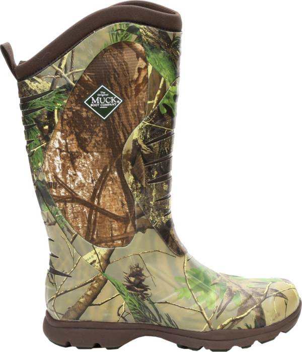 Muck Boots Men's Pursuit Stealth Cool Realtree APG Rubber Hunting Boots product image