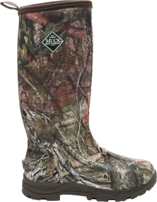 00137fb7274 Muck Boots Men s Woody Plus Mossy Oak Country Insulated Rubber Hunting Boots