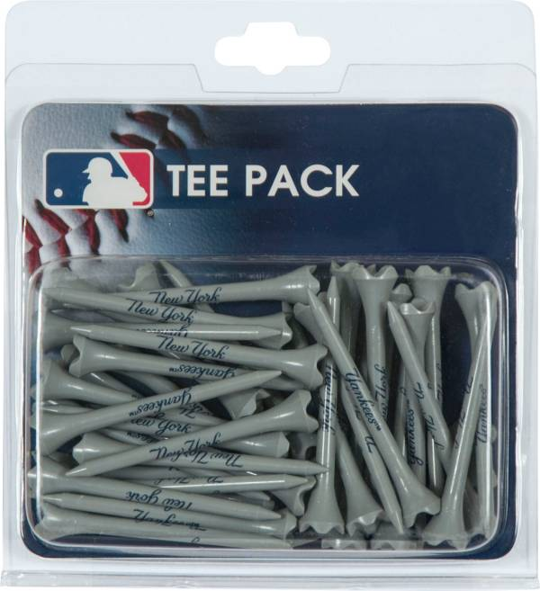 McArthur Sports New York Yankees 2 3/4'' Golf Tees - 50 Pack product image