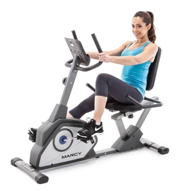 Marcy Recumbent Magnetic Exercise Bike product image