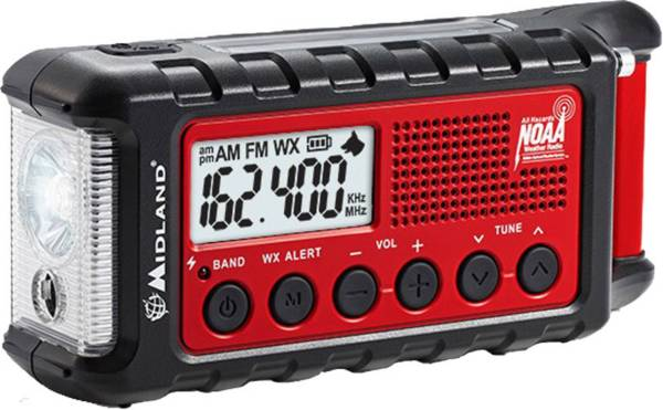 Midland E+READY Emergency Crank Weather Alert Radio product image