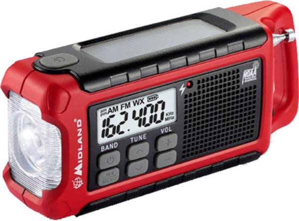 Midland E+READY Compact Emergency Crank Weather Alert Radio product image