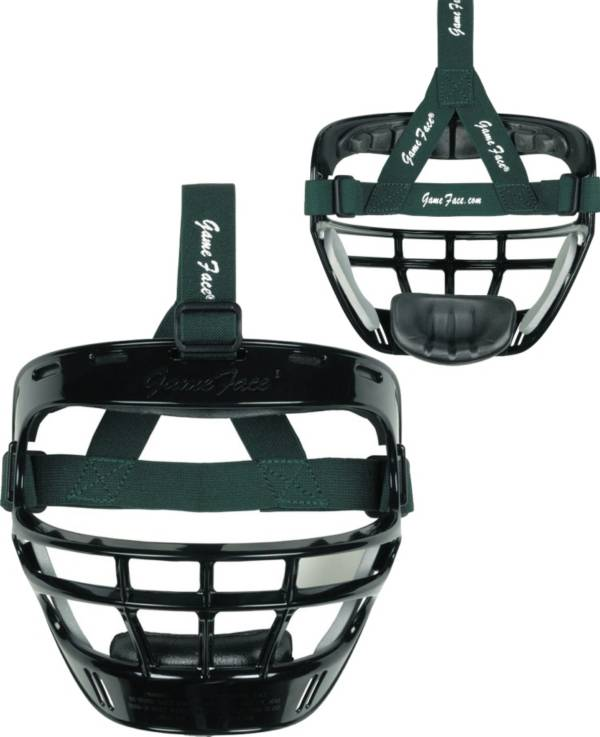 Markwort Game Face Black Softball Safety Face Guard - Large product image