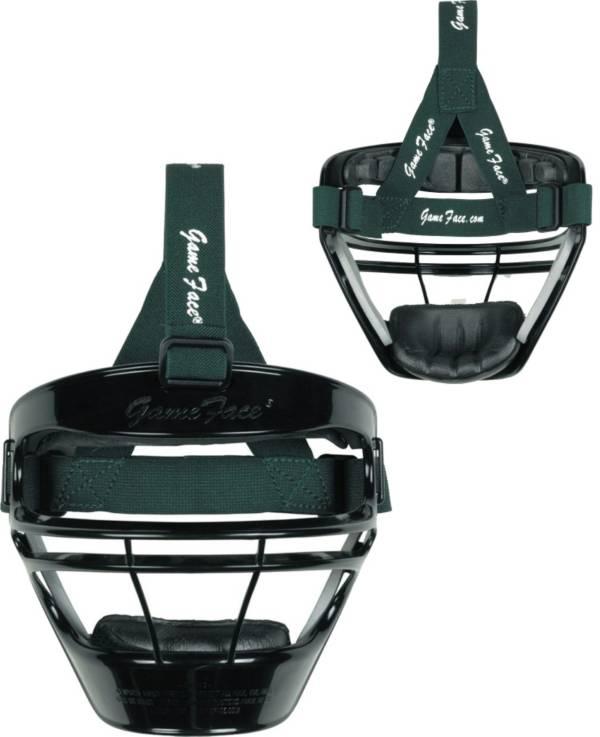 Markwort Game Face Black Softball Safety Face Guard - Medium product image