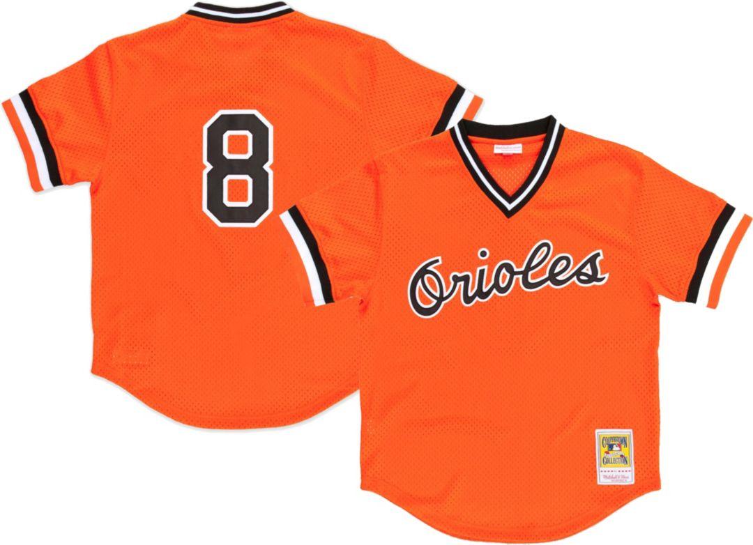 50c2752a7 ... Men's Replica Baltimore Orioles Cal Ripken Jr. Orange Cooperstown  Batting Practice Jersey. noImageFound. Previous