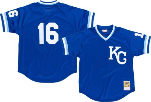 15d3561141b Mitchell   Ness Men s Replica Kansas City Royals Bo Jackson Royal  Cooperstown Batting Practice Jersey. noImageFound. Previous