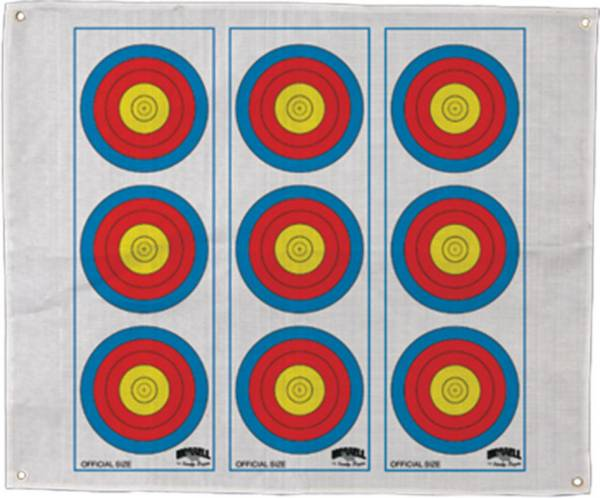 Morrell 3-Spot Vertical Archery Target Face product image