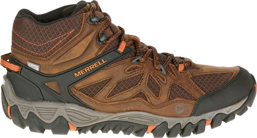 Merrell Men s All Out Blaze Vent Mid Waterproof Hiking Boots. noImageFound.  Previous aab656b434