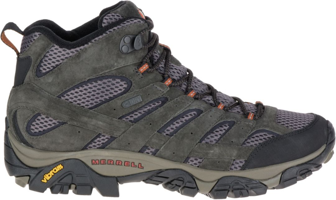 f0e968d4747d6 Merrell Men's Moab 2 Mid Waterproof Hiking Boots | DICK'S Sporting Goods