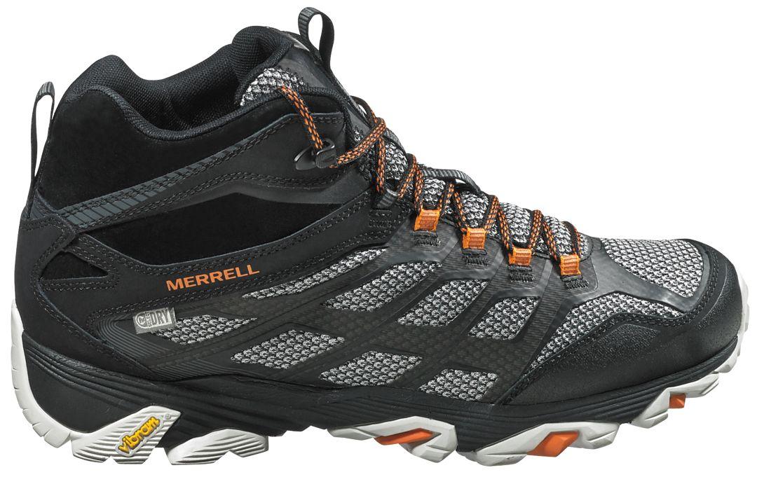 d2bbff5586 Merrell Men's Moab FST Mid Waterproof Hiking Boots