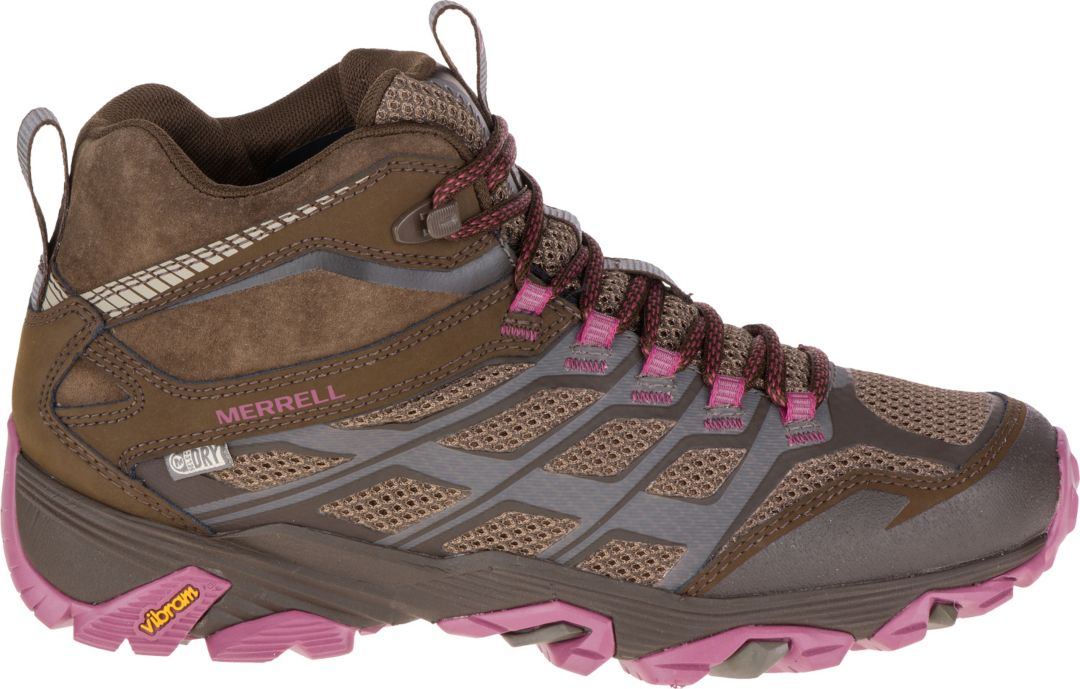 eba9e7b588ae5 Merrell Women's Moab FST Mid Waterproof Hiking Shoes | DICK'S ...