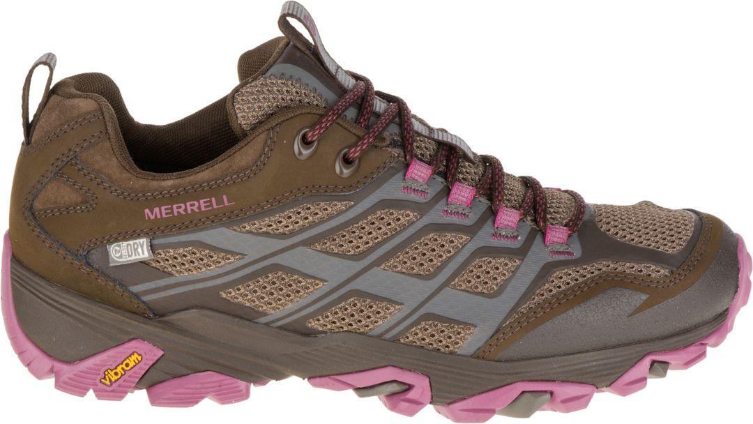 e537eb9b4 Merrell Women's Moab FST Low Waterproof Hiking Shoes | DICK'S ...