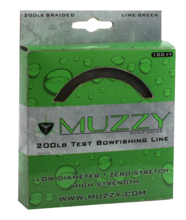 Muzzy 200Lb. Bow Fishing Line – Lime Green product image