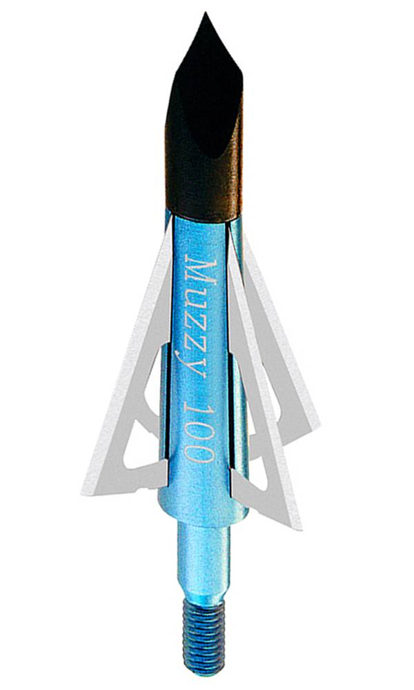 Muzzy 4-Blade Fixed Broadheads - 100 GR, 6 Pack product image