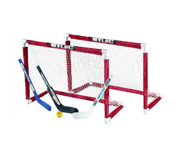 Mylec Deluxe Mini Hockey Goal Set product image