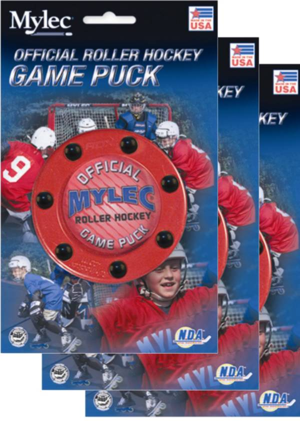 Mylec Official Roller Hockey Game Pucks - 3 Pack product image
